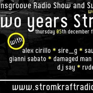 Damaged Man For the Two Years Strom:Kraft Radio & Italiansgroove Radio Show