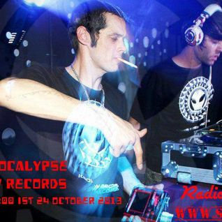 Cosmic Apocalypse Dj Set on Radio Schizoid - October 2013