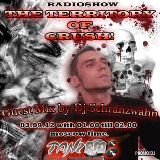 Dj Schranzwahn Guest Mix - Territory of Crush(o3.o9.12) @ Tanz.fm № 13