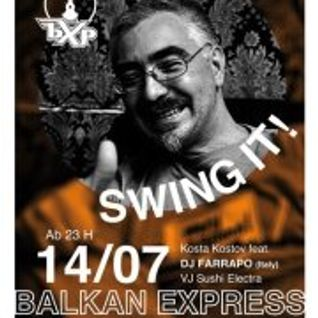 DJ FARRAPO playing Electro Swing at BALKAN EXPRESS COLOGNE (Gebaude 9 on 14 july 2012)