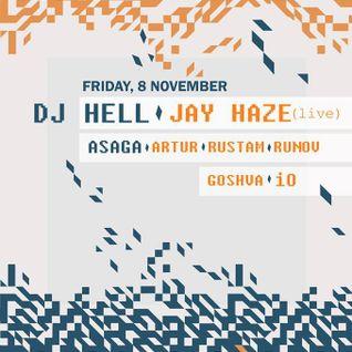 DJ Hell at The Lab - Kiev [November 8, 2013]