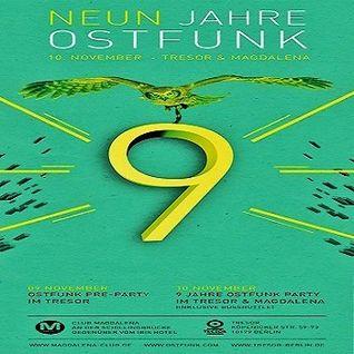 Jay Lumen @ Ostfunk Pre Party - Tresor Berlin - 09.11.2012