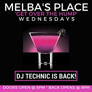 DJ Technics and Sheila Ford Live at Melbas House Music Happy Hour 7-20-2016