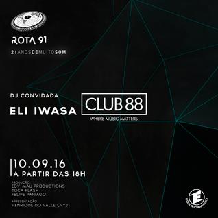 Rota 91 - 10/09/2016 - convidada - eli iwasa (club 88)