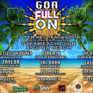 Tali Baba DJ  Set - Goa Full On Festival Feb 2016
