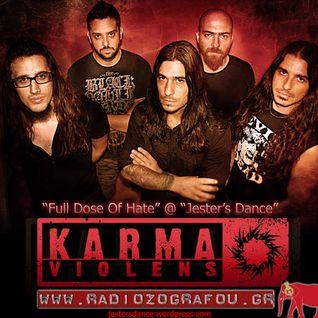 Jester's Dance - RadioShow @ Radiozografou.gr - 02-02-2013 , With Guests Karma Violens