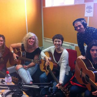Emily Lee, Gabi Garbutt,  Jessie Jetski, Hattie Marsh Live on Wanted 17.02.2015