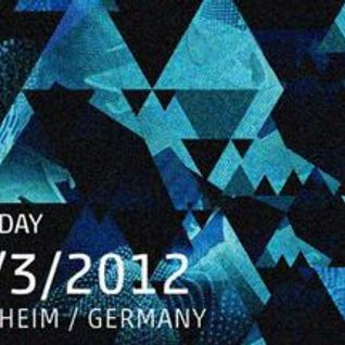 Dorian Paic - Live @ Time Warp 2012 (Mannheim) - 31.03.2012