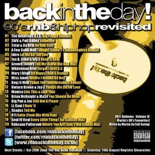 BackInTheDay! 90's Anthems Volume 18