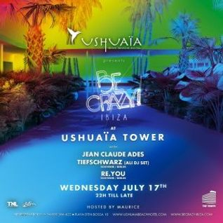 Re.You - Live @ Be Crazy, Ushuaia Tower - 17.07.2013