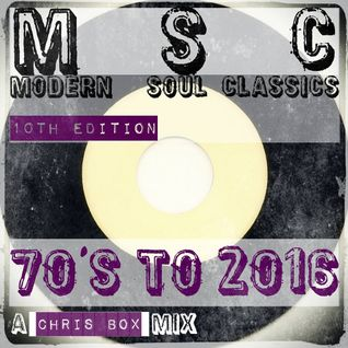 Modern Soul Classics, 10th Edition (70's to 2016) (March 2016)