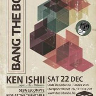 2012.12.22 Seba Lecompte @ Bang The Box with KEN ISHII part 2
