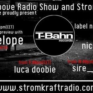Sire g @ T-Bahn Records Radio Show @ StromKraft [Hamburg]