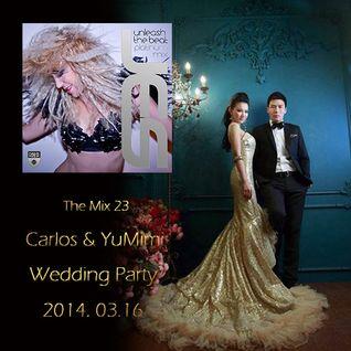 DJ Carlos YangYang - The Mix 23 @ Carlos & YuMimi Wedding Party All JES. Mini Mix 2014-03-01