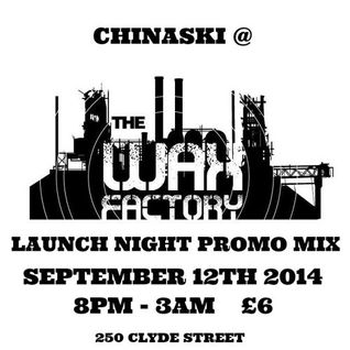 THE WAX FACTORY PROMO MIX - SEPTEMBER 2014