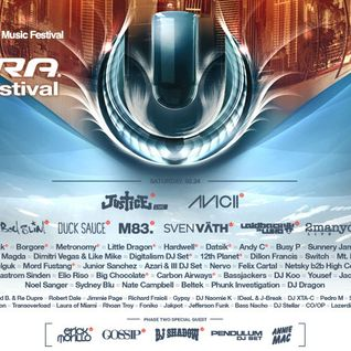 Justice - Live @ Ultra Music Festival 2012 - 24.03.2012