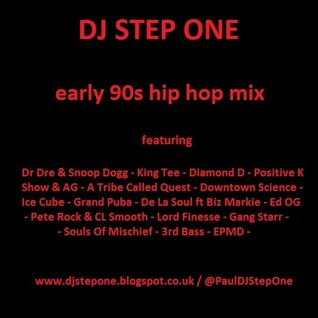 DJ Step One - early 90s Rap mix
