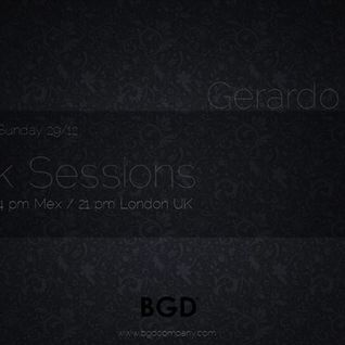 Gerardo Duran Present (Black Sessions) By Ground Digital Label & Radio (29-12-2013)