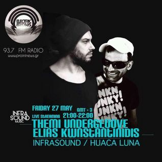 Infrasound Music  Pr '' Huaca Luna''  Live At '''Electric Fridays'' [Radio Proini 93,7 Fm ]