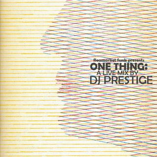 ONE THING: A Live Mix