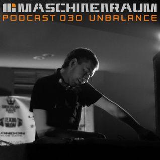 Maschinenraum Podcast 030 - Unbalance