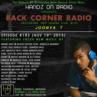 BACK CORNER RADIO: Episode #193 (Nov 19th 2015)
