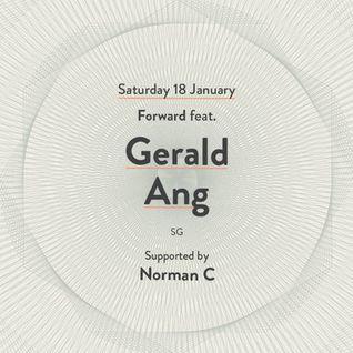 FORWARD feat. GERALD ANG (SG) @ kyō - 18th Jan