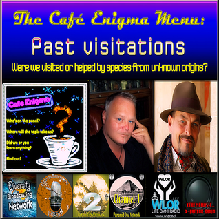 CAFE ENIGMA-VISITATIONS IN THE PAST