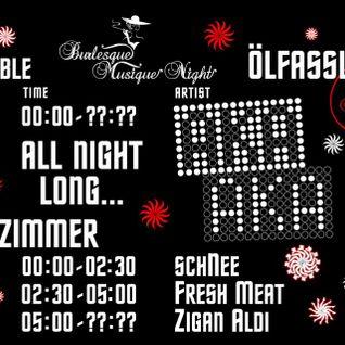 """""""Burlesque Musique Night"""" - schNee - 13.04.2013"""""""