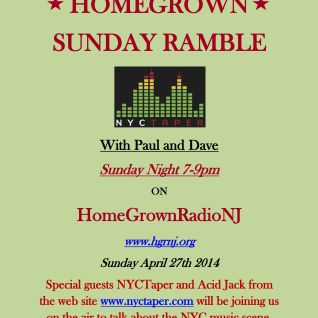 Homegrown Sunday Ramble #17 New Neil Young, NYCTaper Interview,  Summer Music Festival Preview