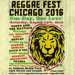EVERYTHING OFF BEAT w/ DJ Chuck Wren (WLUW-FM 88.7 Chicago 07/17/2016) - Reggae Fest Chicago Aug 13