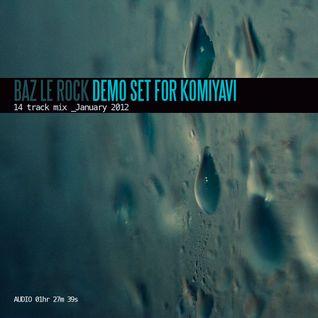 Demo Set for KoMiyavi - January 2012
