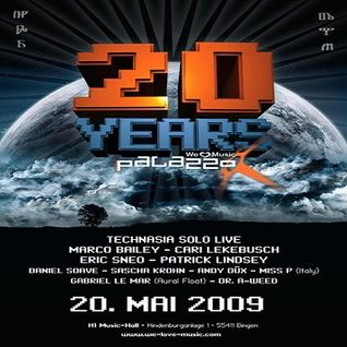 Cari Lekebusch @ 20 Years Palazzo - Palazzo Bingen - 20.05.2009