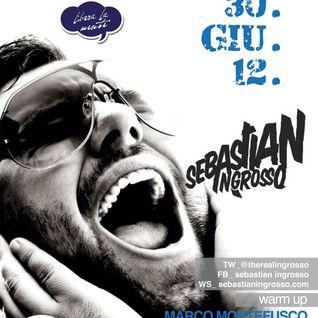 Dj Enzo Falivene Warm Up Sebastian Ingrosso 30 June 2012 at Dolcevita