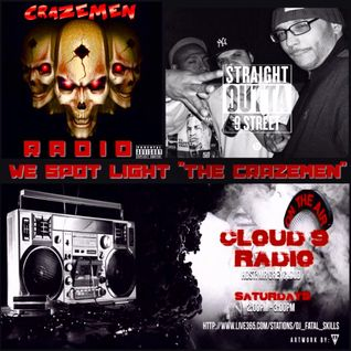 "CLOUD 9 RADIO HOSTED BY MRGREYCLOUD TURNS INTO ""CRAZE MEN"" RADIO"