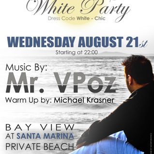 Mr.VPoz @ Season Closing Full Moon Beach Party August 2013 Santa Marina Private Beach Myconos Part 2