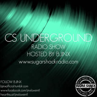 B.Jinx - Live on Sugar Shack (CS Underground 19 June 2016)