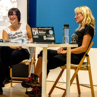 11 Aug 2014: Ellie Harrison in conversation with Ewa Jasiewicz