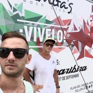 Crazibiza Live @ Mamitas Beach, Playa Del Carmen, Mexico (2016-09-17 )