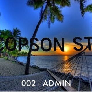 COPSON STREET 002 - Admin- 110bpm Mixtape