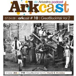 ARKcast # 10 | GreatBlackMzk Vol2 x Masq & Mwëslee