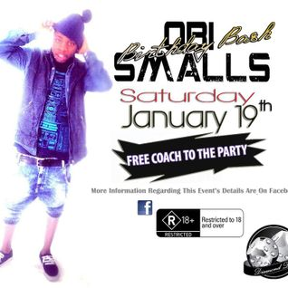 Obi Smalls Annual 5'th Birthday Bash (19/01/2013)
