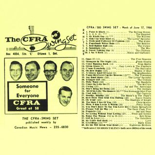 Ottawa Top 40 Chart: June 17th, 1966