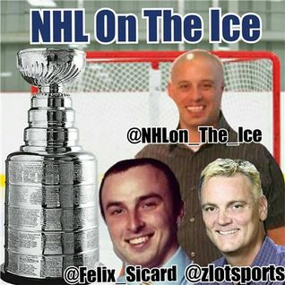 NHL ON THE ICE, Special Guests  Zachary Devine & Dana Lane