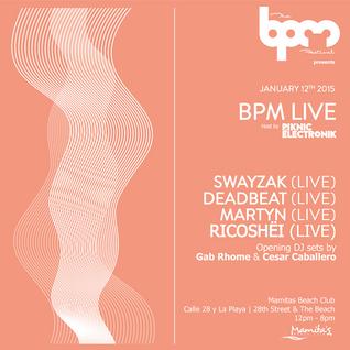 Swayzak (live) @ BPM Live - BPM Festival 2015 12-01-15