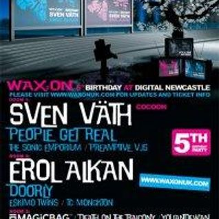 Eskimo Twins Live at Wax:On 5th Birthday at Digital Newcastle November 2009