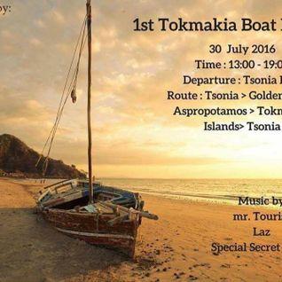 mr. Tourist dj set @ 1st Tokmakia Boat Party 30/7/2016