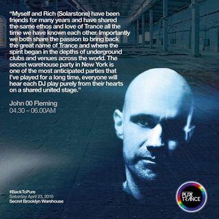 John 00 Fleming - Live @ Secret Warehouse Brooklyn (NYC) - 23-APR-2016
