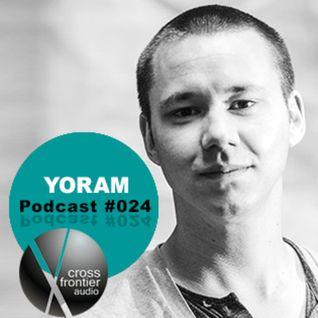 Yoram - Crossfrontier Audio Podcast 024