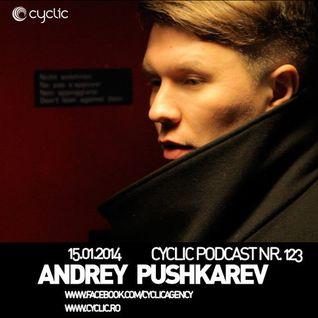 Cyclic Podcast Episode Nr 123 - Andrey Pushkarev - Live @ Kudos Ice - NYE 2014
